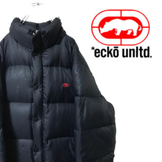 エコーアンリミテッド(ECKO UNLTD)のECKO エコーアンリミテッド 中綿 ダウンジャケット 胸ロゴ 厚手(ダウンジャケット)