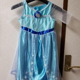 アナトユキノジョオウ(アナと雪の女王)のエルサ コスチューム ドレス 95〜115センチ(ドレス/フォーマル)