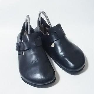 ビルケンシュトック(BIRKENSTOCK)の 定価2万!王道モデルドイツ製!ビルケンシュトックロンドンモックシューズ黒   (ドレス/ビジネス)