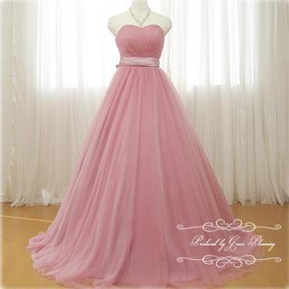 ハートカット ウェディングドレス ♡