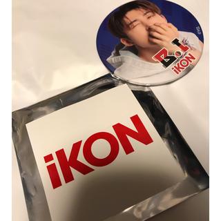 アイコン(iKON)のiKON 缶バッジ ハンビン BI(アイドルグッズ)