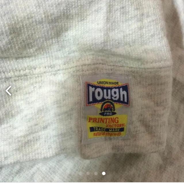 rough(ラフ)のroughフード付きチュニック丈 レディースのトップス(Tシャツ(長袖/七分))の商品写真