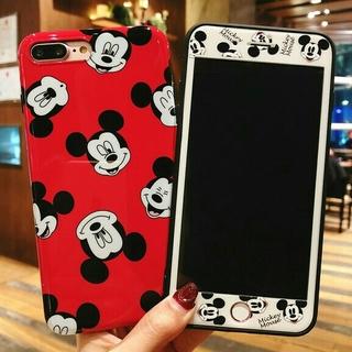 Disney - スマホケース iPhone6 / 6s 画面保護フィルム セット ミッキー