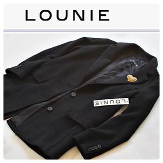 ルーニィ(LOUNIE)のルーニィ コート ブラック(ロングコート)