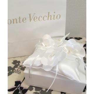 ポンテヴェキオ(PonteVecchio)のポンテヴェキオ リングピロー  結婚 指輪 小物 お花(リングピロー)