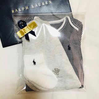 Ralph Lauren - 定価半額以下!ラルフギフトセット☆70サイズ出産祝いに☆