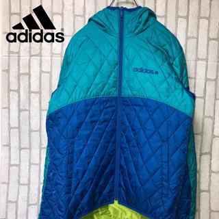 アディダス(adidas)のアディダスネオ キルティングジャケット (ナイロンジャケット)