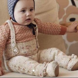 キャラメルベビー&チャイルド(Caramel baby&child )のmisha and puff ニットパンツ 2-3y(パンツ/スパッツ)