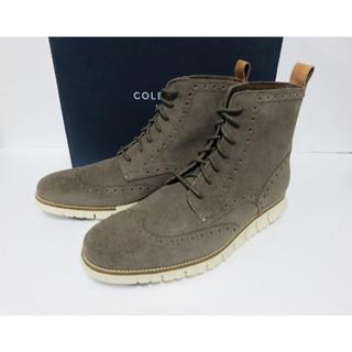 コールハーン(Cole Haan)のCOLE HAAN ZEROGRAND ウイングチップ ブーツ 12 メンズ (ブーツ)