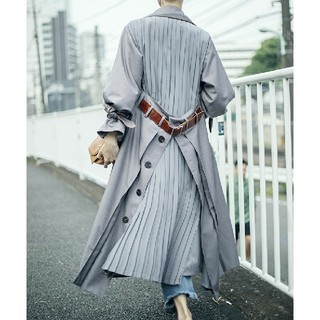 Ameri VINTAGE - 新品タグ アメリヴィンテージ BACK PLEATS LAYERED COAT