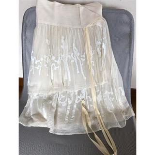 ヤエカ(YAECA)のdosa  巻きスカート(ひざ丈スカート)