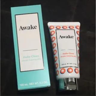 アウェイク(AWAKE)の新品未使用 アウェイク ハロークリーン クレンジングジェリー(クレンジング / メイク落とし)