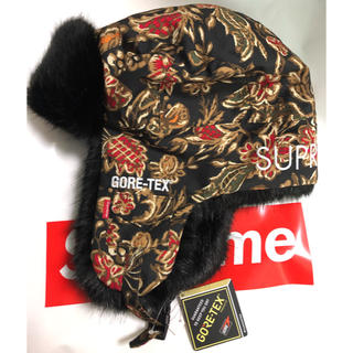 シュプリーム(Supreme)のsupreme gore-tex taped seam trooper 18fw(キャップ)