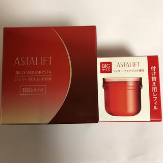 アスタリフト(ASTALIFT)のアスタリフト  ジェリー アクアリスタ BIG + 専用レフィル BIG 60g(美容液)