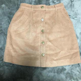 マーキュリーデュオ(MERCURYDUO)の美品コーデュロイスカート(ミニスカート)