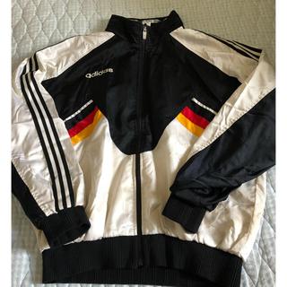 アディダス(adidas)のドイツ代表 90年代 ウインドブレーカー アディダス製(ナイロンジャケット)