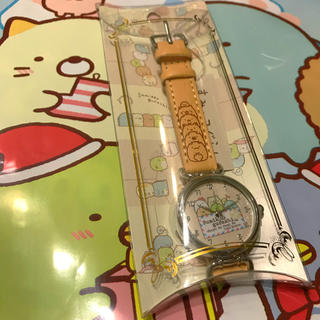 サンエックス(サンエックス)のすみっコぐらし 腕時計 ねこ しろくま とかげ とんかつ ぺんぎん? たぴおか(キャラクターグッズ)
