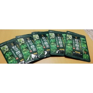 野草酵素 5袋セット(その他)