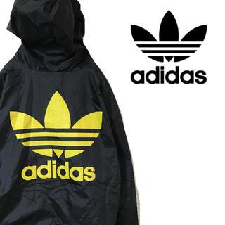 アディダス(adidas)のadidas アディダスオリジナルス ナイロンジャケット ビッグロゴ ミツバ(ナイロンジャケット)