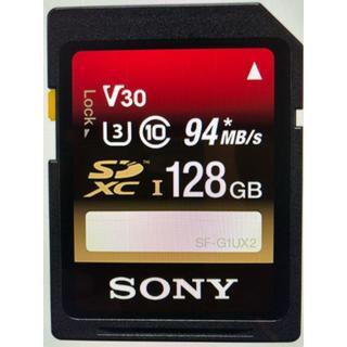 ■ソニー SF-128UX2B SDXCカード 128GB CLASS10(その他)