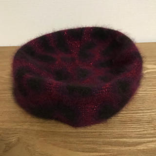 Vivienne Westwood - vivienne westwoood レオパード 帽子 ボルドー