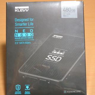 新品・未開封 SSD 480GB KLEVV N600 D480GAA-N600(PCパーツ)