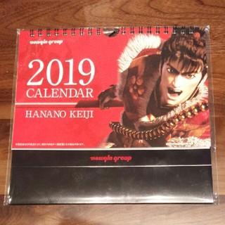 ニューギン(newgin)の花の慶次 2019年 卓上カレンダー(パチンコ/パチスロ)