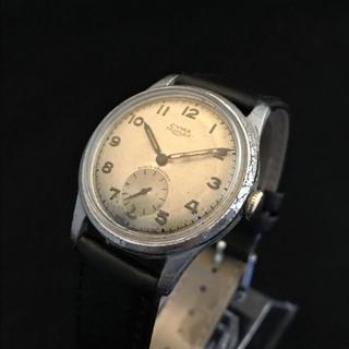 シーマ(CYMA)の1940s CYMA TRIPLEX アンティーク手巻時計 15石 シーマ(腕時計(アナログ))