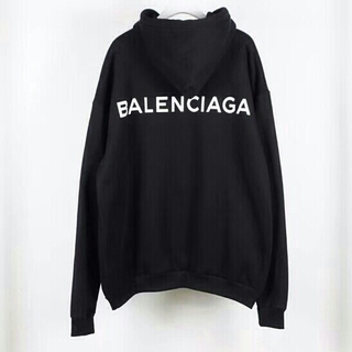 バレンシアガ(Balenciaga)のBalenciaga 裏起毛 メンズパーカー(パーカー)