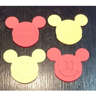 ディズニー(Disney)のディズニー ミッキー コースター 4枚 セット(テーブル用品)