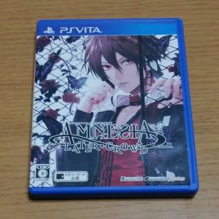 プレイステーションヴィータ(PlayStation Vita)のPSVITA AMNESIA LATER×CROWD V Edition(携帯用ゲームソフト)