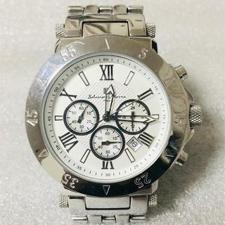 サルバトーレマーラ(Salvatore Marra)の値下げ❗️Salvatore Marraサルバトーレマーラ センタークロノグラフ(腕時計(アナログ))