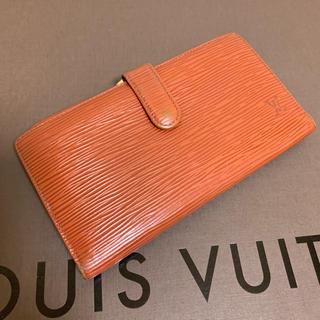 ルイヴィトン(LOUIS VUITTON)のルイヴィトン エピ がま口長財布 正規品(財布)