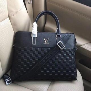 ルイヴィトン(LOUIS VUITTON)の新品未使用 ルイヴィトン メンズバッグ ブリーフケース ダミエ  ブラック(ビジネスバッグ)