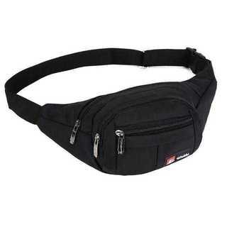 ウエストバッグ 大容量 ウエストポーチ 防水 3ポケット 小物入れ(ウエストポーチ)