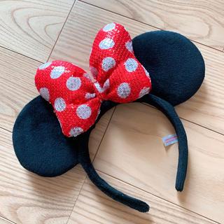 ディズニー(Disney)のディズニー ミニー カチューシャ(カチューシャ)