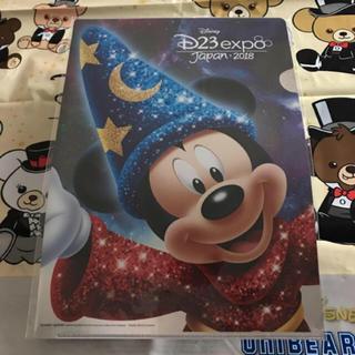 ミッキーマウス(ミッキーマウス)のD23ミッキークリアファイル(クリアファイル)