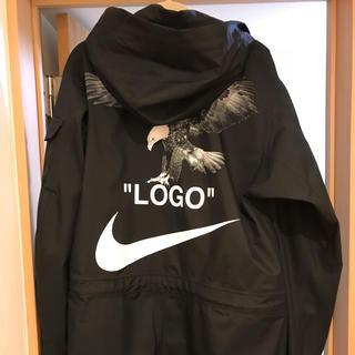 NIKE - nikeoff white football correction jacket