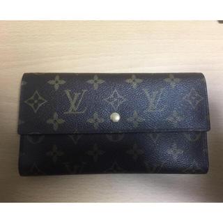ルイヴィトン(LOUIS VUITTON)のルイヴィトン三つ折り財布(財布)
