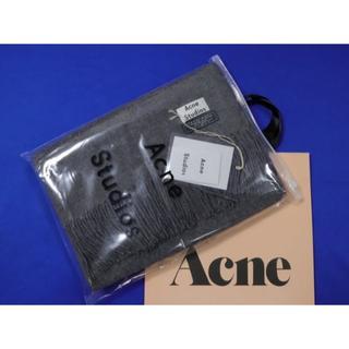 アクネ(ACNE)の未使用品アクネAcne Studios大判 マフラー ストールターググレー(ストール/パシュミナ)
