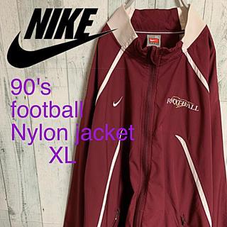 ナイキ(NIKE)の90's  NIKE ナイキ 切り替えワンポイント ナイロン ジャケット XL(ナイロンジャケット)