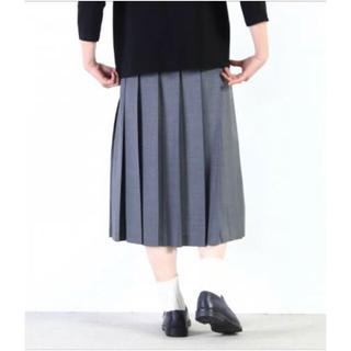 ヤエカ(YAECA)のcharpentier de Vaisseau スカート (ひざ丈スカート)