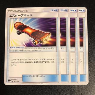 ポケモン(ポケモン)のエスケープボード     4枚(シングルカード)