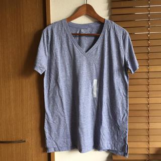 ジーユー(GU)のGU Women VネックT ジーユー Tシャツ(Tシャツ(半袖/袖なし))