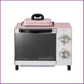 【多彩な機能♪】オーブントースター コイズミ ピンク(その他)