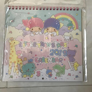 LITTLE TWIN STARSカレンダー2019(日用品/生活雑貨)