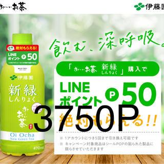 LINEポイント 3750ポイント分 応募チケット75枚(その他)