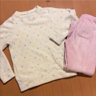 ジーユー(GU)のジーユー マシュマロフィール パジャマ S 美品♫(パジャマ)