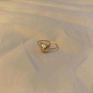 ロキエ(Lochie)の❁ Vintage rétro gold cat ring(リング(指輪))