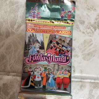 ディズニー(Disney)のファンタジーランド コレクションカードTDR(カード)